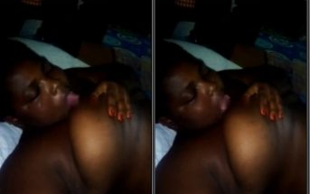 Ghana Leak Video of Millicent From Cape Coast Playing With Her Breast