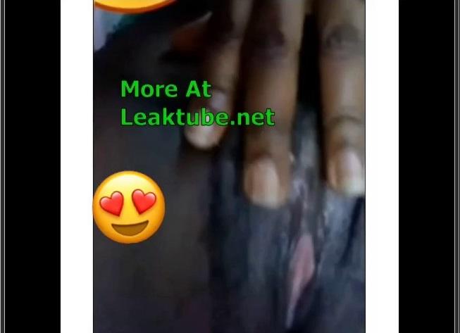 Ghana University Girl Shows Her Pussy In Video Call Leak