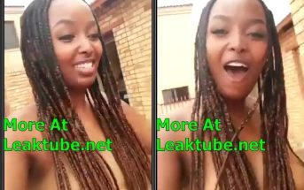 South Africa Lady Walks Outside Naked On Her Birthday Leaktube