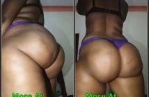 Exposed Big Ass Ugandan Woman Twerking Naked On Camera Leaktube.net