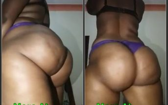 Exposed Big Ass Ugandan Woman Twerking Naked On Camera Leaktube.net