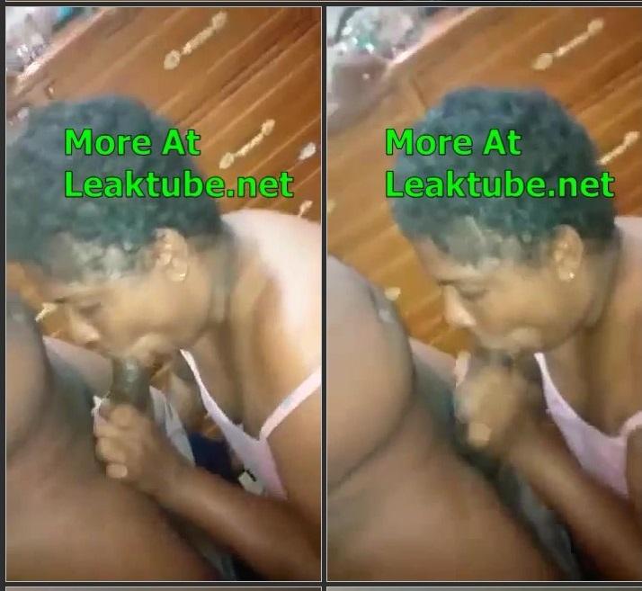 Exposed Old Lady Sucking Dick On Camera Leak