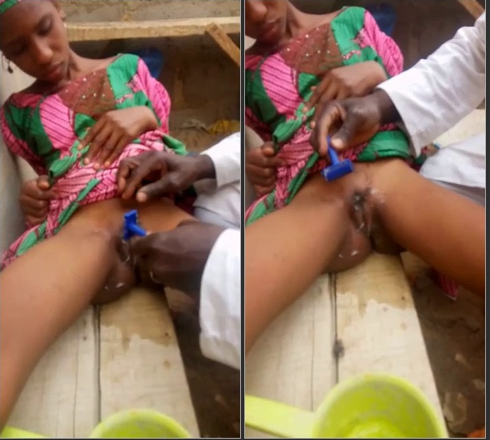 Must Watch Unbelievable Video Old Man Shaving Pubic Hair Of 15 Year Old Daughter Leak