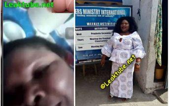 Ghana Nude Video Of Prophetess Christolite Adu Gyamfi Of spring Waters Ministry International Leak